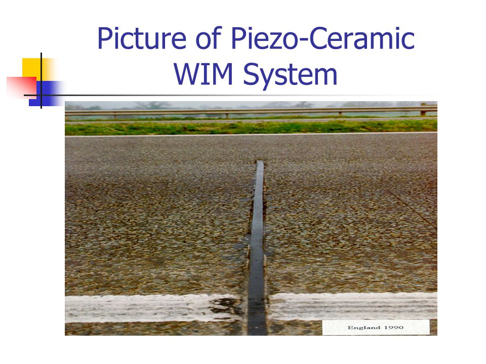 Picture of Piezo-Ceramic WIM System