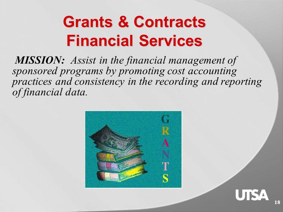 17 Capital Project & Debt Service Accounting 17 Helpful Links:  Guidelines  Section 5A – Financial Management of Capital Assets http://www.utsa.edu/financialaffairs/opguidelines/2.5.1.html  Section 5A – Capital Projects (Budget Group 36-9XXX-XX) Procedures http://www.utsa.edu/financialaffairs/opguidelines/2.5.1.1.html  Section 5A – Institutionally Managed Capital Projects (Budget Group 36-6XXX-XX and 36-8XXX-XX) Procedures) http://www.utsa.edu/financialaffairs/opguidelines/2.5.1.2.html