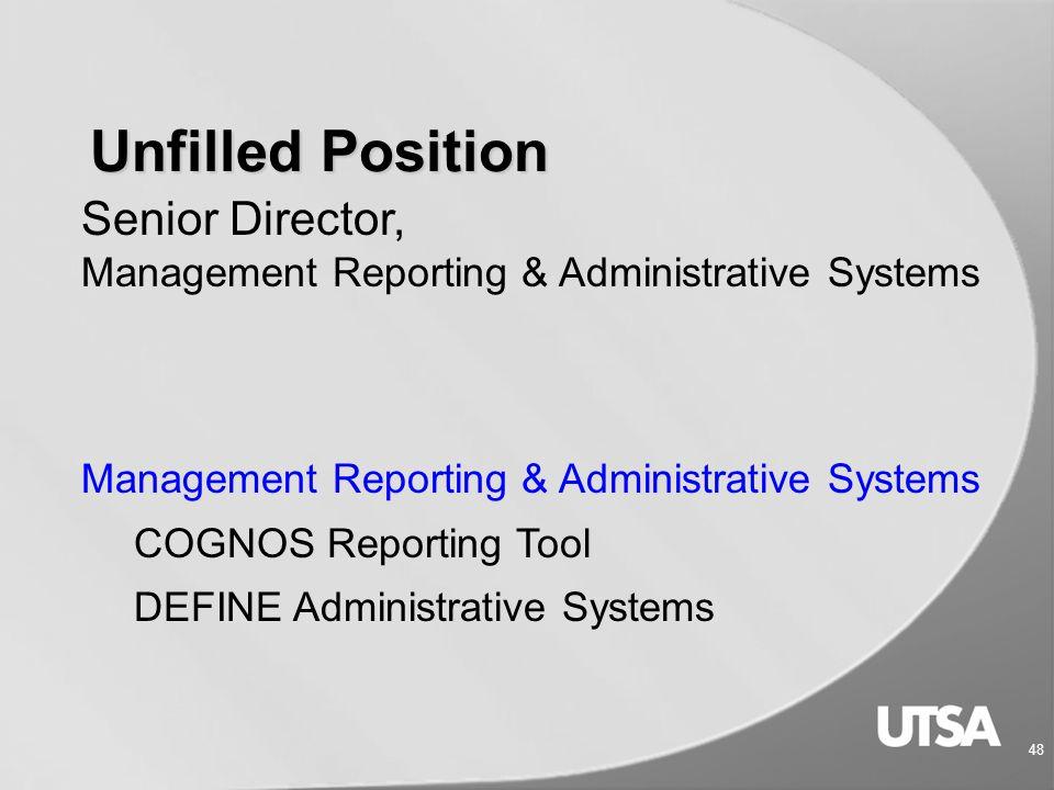 47 Budget Planning & Development  University Heights, Bldg IV, Suite 600  Email us at Budget.Office@utsa.edu Budget.Office@utsa.edu  Website: www.u