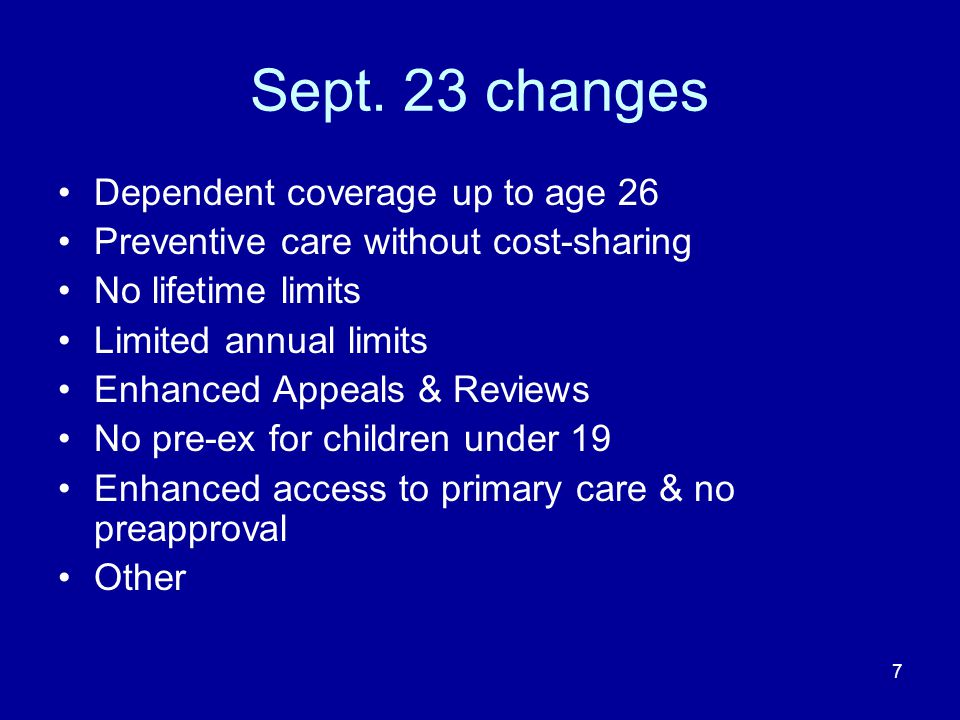28 Other: HHS working with NAIC to develop process for annual review of unreasonable rate increases.