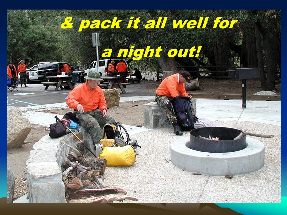 & pack it all well for a night out!