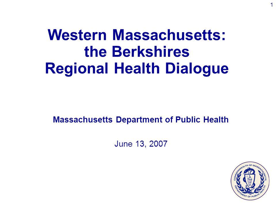 12 Language Spoken at Home, Western Region and Massachusetts: 2000 Source: MDPH, Health Information, Statistics, Research & Evaluation Bureau, Research & Epidemiology Program