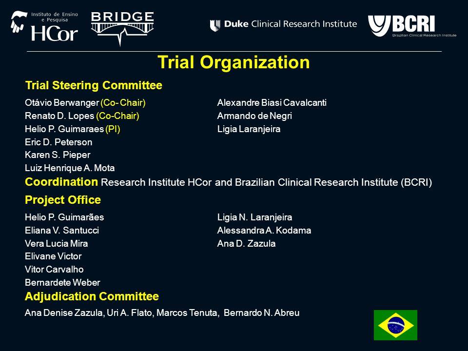 Trial Organization Trial Steering Committee Otávio Berwanger (Co- Chair)Alexandre Biasi Cavalcanti Renato D.