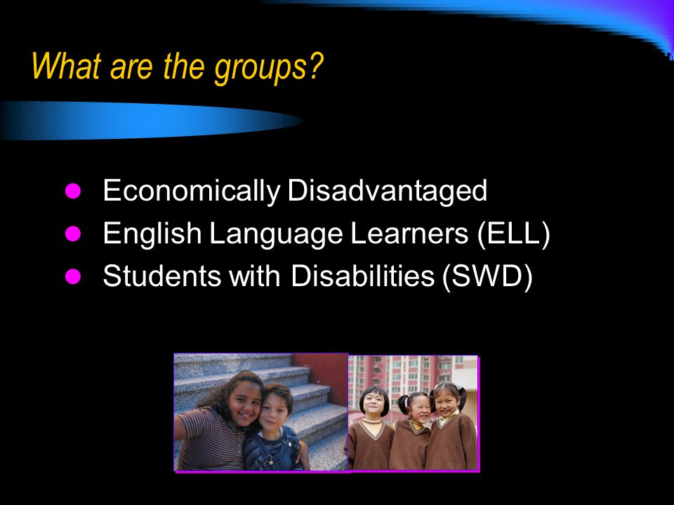  School Grade  Participation Rate  Graduation Rate  Proficiency in  Writing  Reading  Mathematics  Safe Harbor  Growth Model What are the components of the AYP Calculation?
