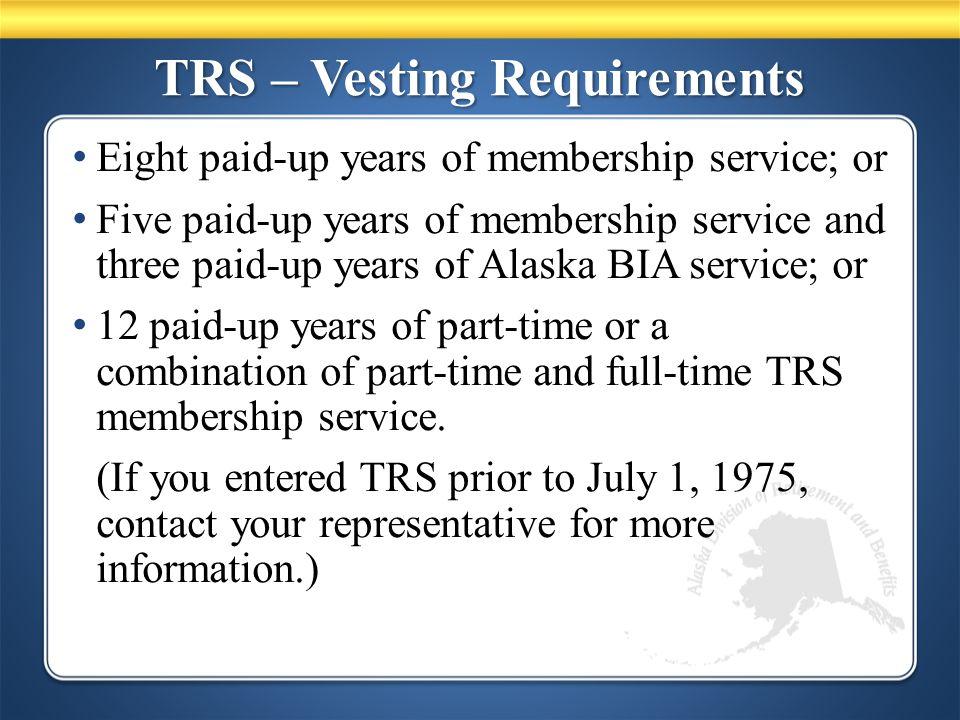 PERS – Survivor Options Benefit TypeRetireeSurvivor Normal Benefit$1,350.00$0.00 75% J & S$1,185.00$888.75 50% J & S$1,235.00$617.50 66-2/3% LS$1,240.00$826.50 Member is age 60 and spouse is age 55.