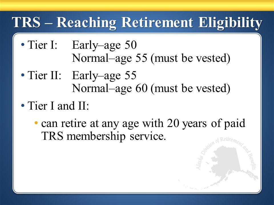 TRS – Pension Decisions Regular Retirement 1% Supplemental 50% or 75% Joint and Survivor (J&S) 66-2/3% Last Survivor (LS) Retirement Pension Options