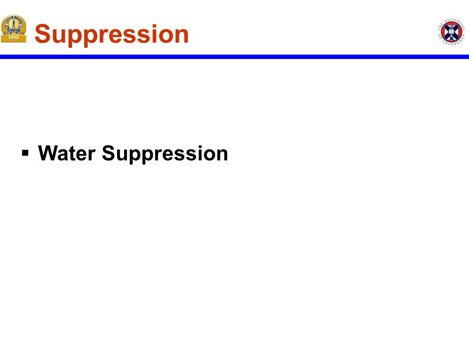 Should Active Suppression be Used. Why can the decision of not using active suppression be made.
