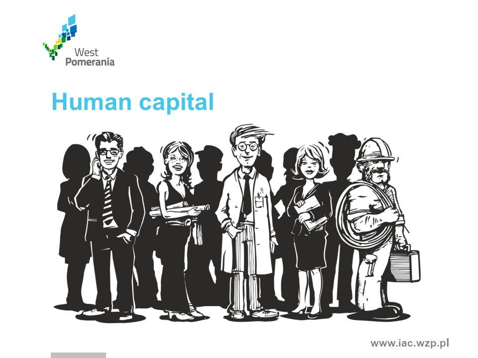 www.iac.wzp.p l Human capital