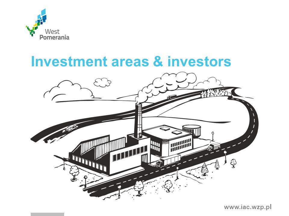 www.iac.wzp.p l Investment areas & investors