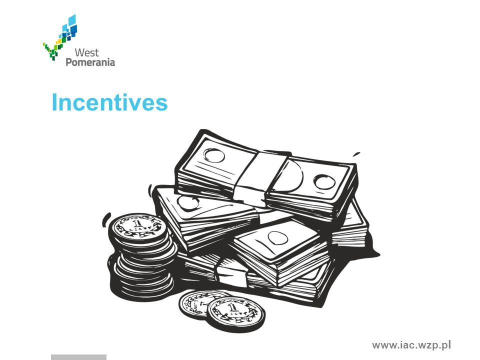 www.iac.wzp.p l Incentives