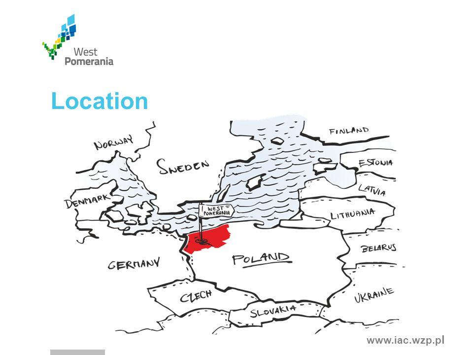 www.iac.wzp.p l Location