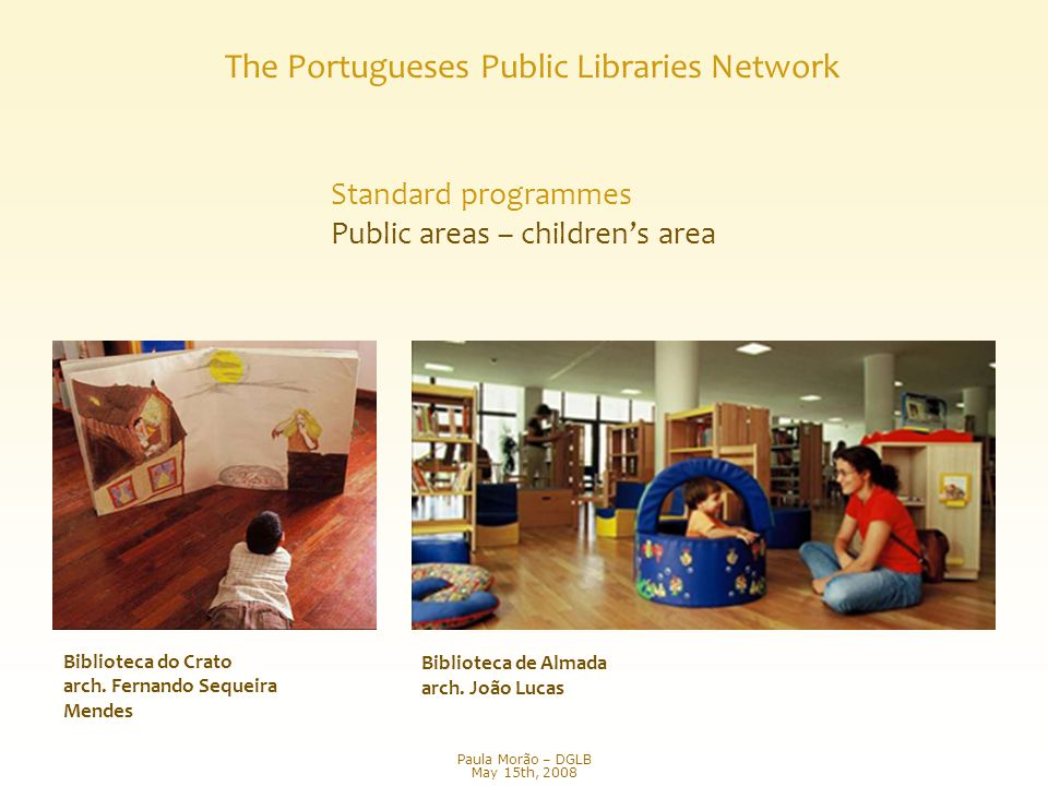 Biblioteca de Almada arch. João Lucas Biblioteca do Crato arch.