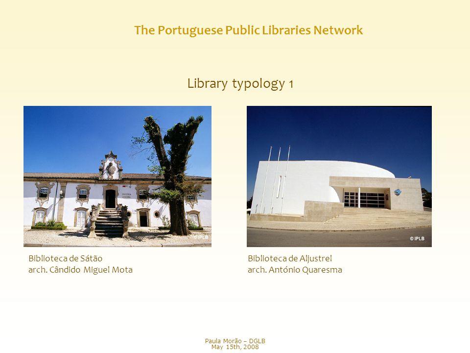 Library typology 1 Biblioteca de Sátão arch. Cândido Miguel Mota Biblioteca de Aljustrel arch.