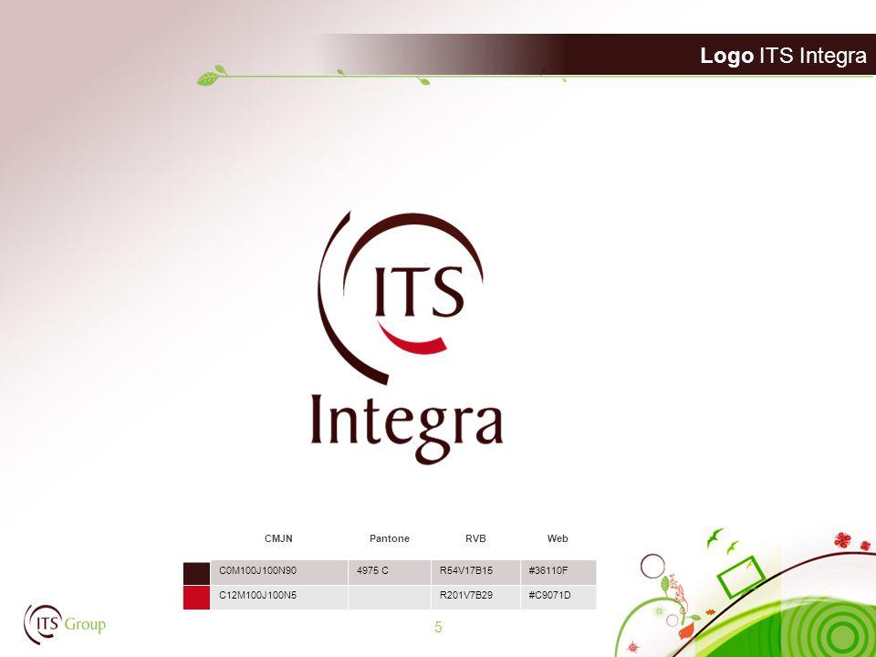 Logo ITS Integra 5 CMJNPantoneRVBWeb C0M100J100N904975 CR54V17B15#36110F C12M100J100N5R201V7B29#C9071D