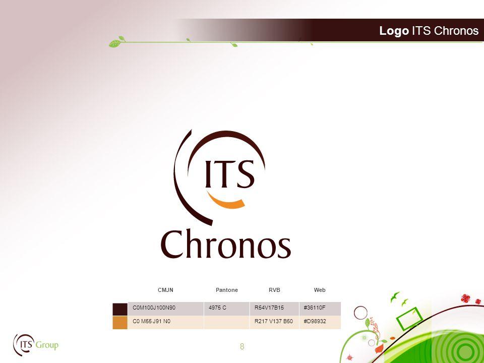 Logo ITS Chronos 8 CMJNPantoneRVBWeb C0M100J100N904975 CR54V17B15#36110F C0 M55 J91 N0R217 V137 B50#D98932