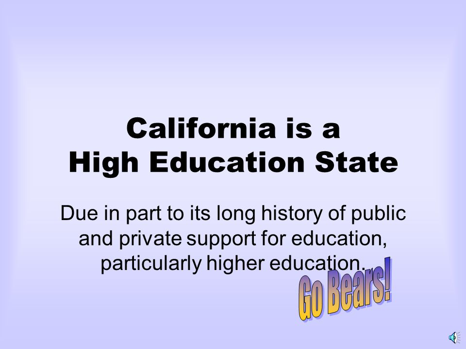 Dilemma Would not educating more Californians simply benefit the rest of the world at California Tax-Payers' expense.