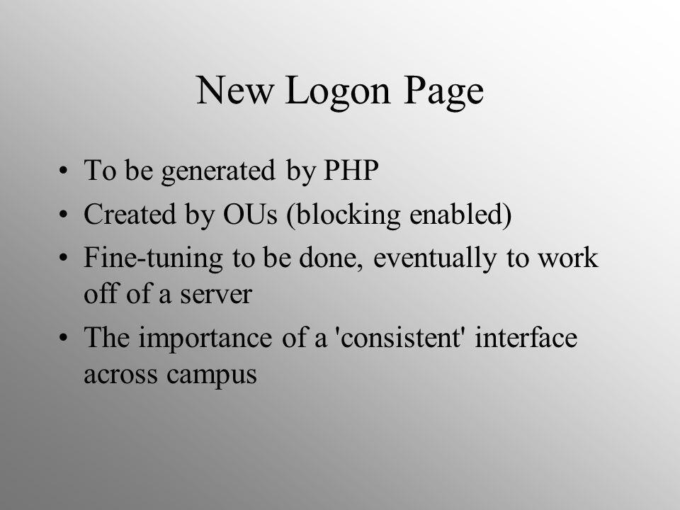 Laptops in Nexus Enabling Nexus Laptops have been successful in AHS and Science.