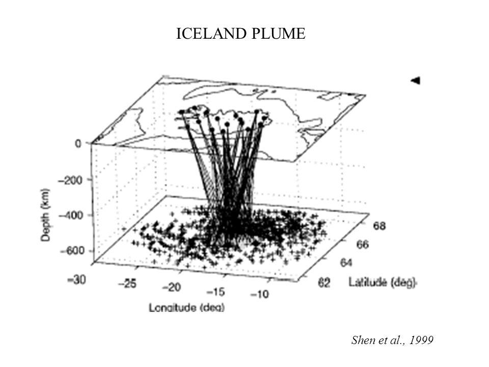 Shen et al., 1999 ICELAND PLUME
