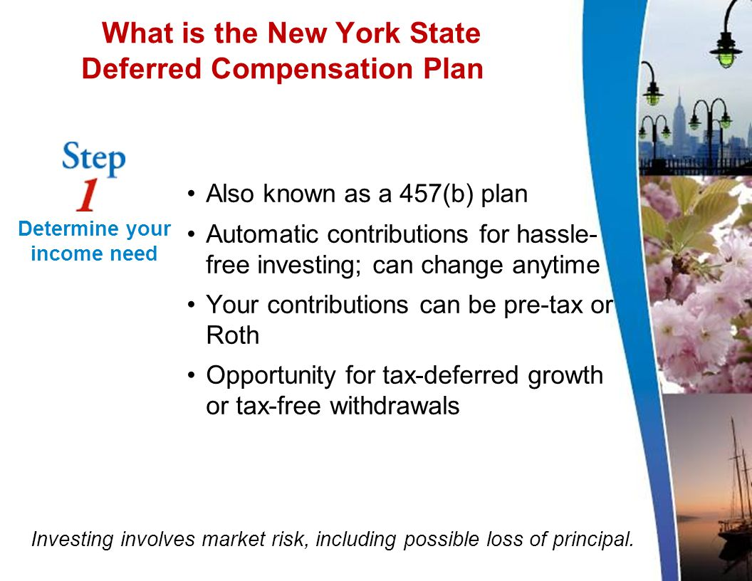 What is the New York State Deferred Compensation Plan.