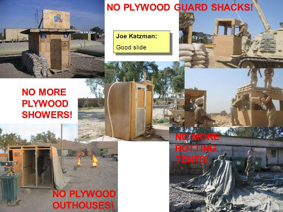 BattleBoxes may have Hesco Concertainer kangaroo pouches on outer walls to fill with dirt/rocks to provide more ballistic protection initially, Rhino Snot seals dirt top from water/moisture One of the M113 Gavins with dozer blade quickly fills up boxes with dirt/rocks to provide extra ballistic protection.