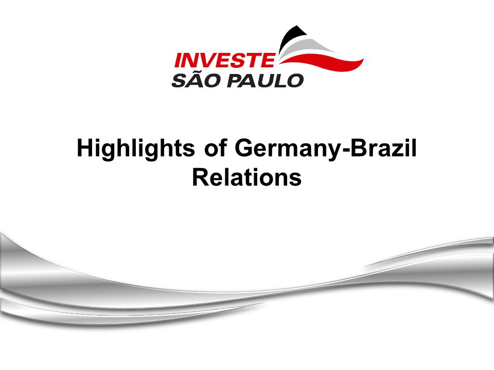 Highlights of Germany-Brazil Relations