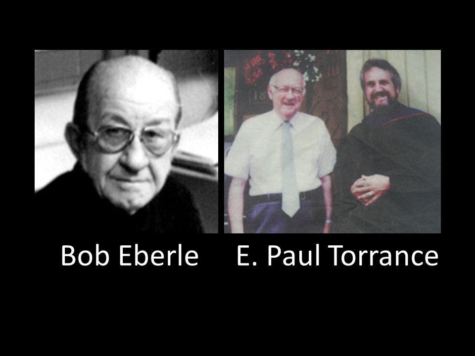 Bob Eberle E. Paul Torrance