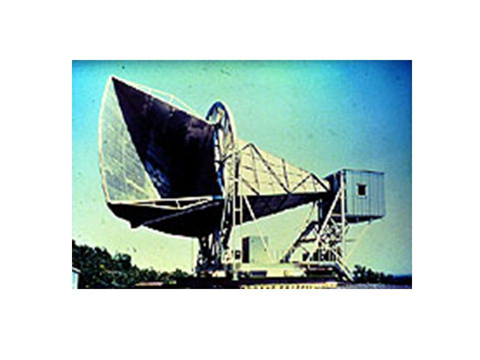 """Podstawowe pojęcia: Kosmiczne Mikrofalowe promieniowanie tła – relikt Wielkiego Wybuchu 3 stopnie powyżej zera absolutnego (-270 stopni Celsjusza) mm-cm długości fal 400 fotonów na centymetr sześcienny 10 biliardów fotonów na sekundę na centymeter kwadratory Kilka % """"śniegu"""" na ekranie TV Temperatura nieco różna w różnych miejscach na niebie - 1 część na 100,000."""