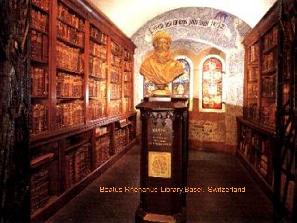 BATTHYANEUM Library, Alba Iulia,Roumanie,