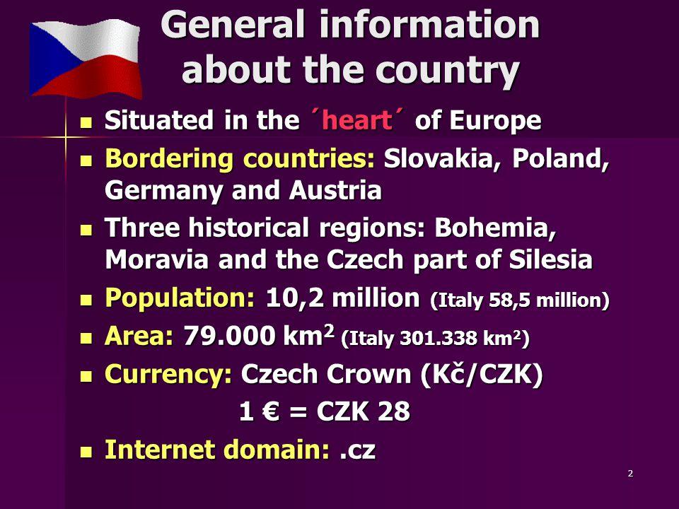 43 Living Living in the Czech Republic