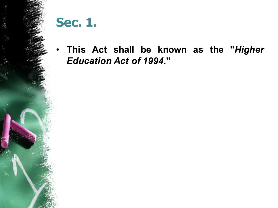 Sec. 1. This Act shall be known as the