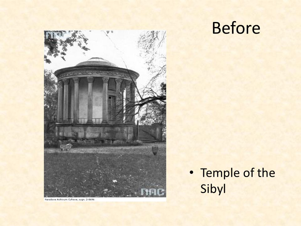 Before Temple of the Sibyl