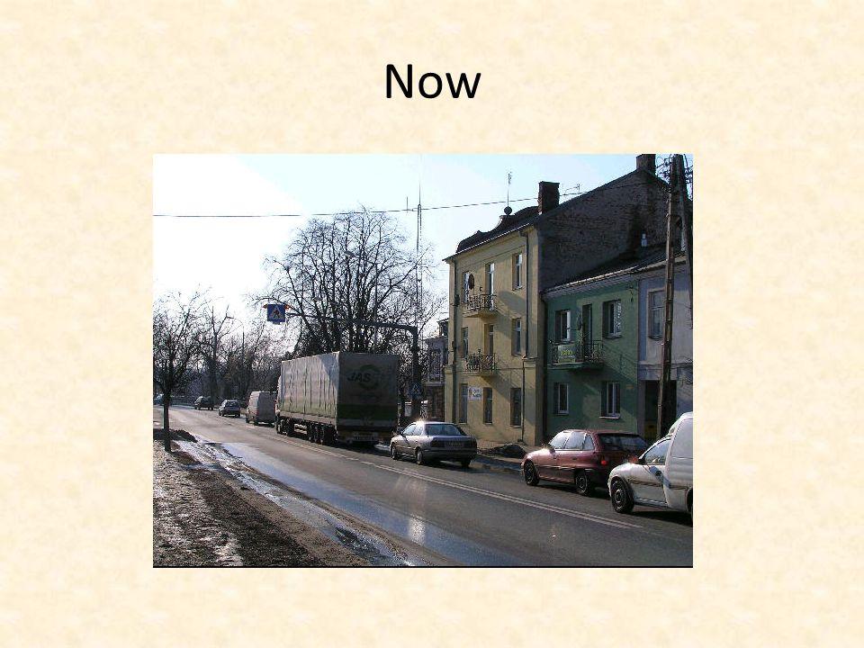 Before Piłsudskiego and Lubelska Street