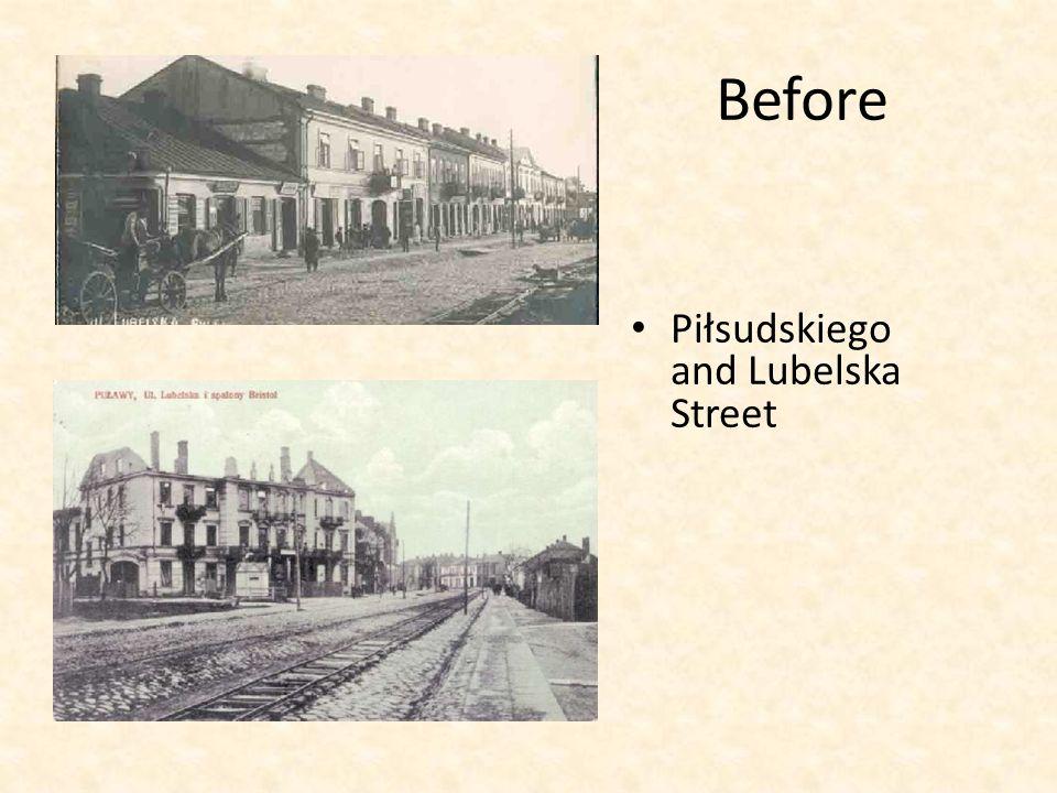 Now Piłsudskiego Street