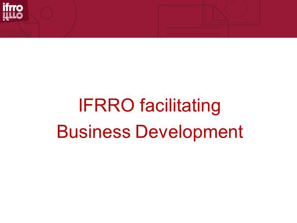 IFRRO facilitating Business Development