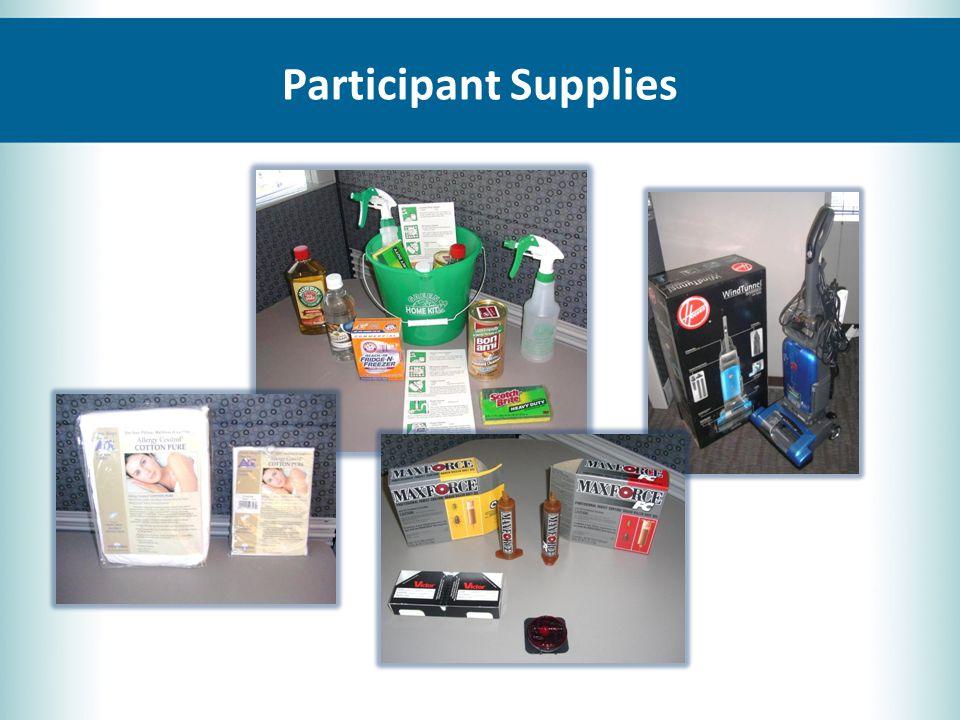 Participant Supplies