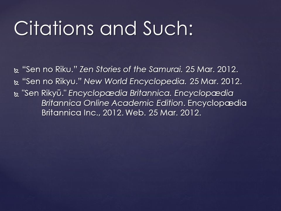  Sen no Riku. Zen Stories of the Samurai. 25 Mar.
