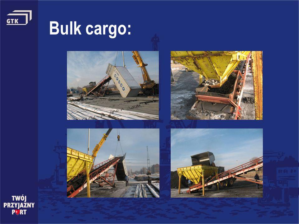 Bulk cargo:
