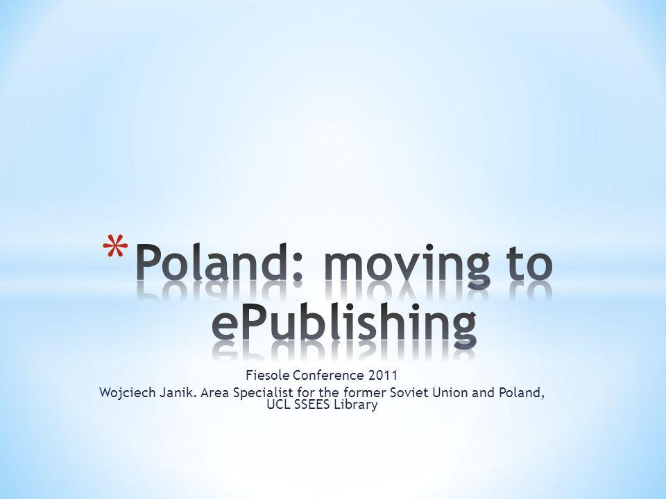 Fiesole Conference 2011 Wojciech Janik.