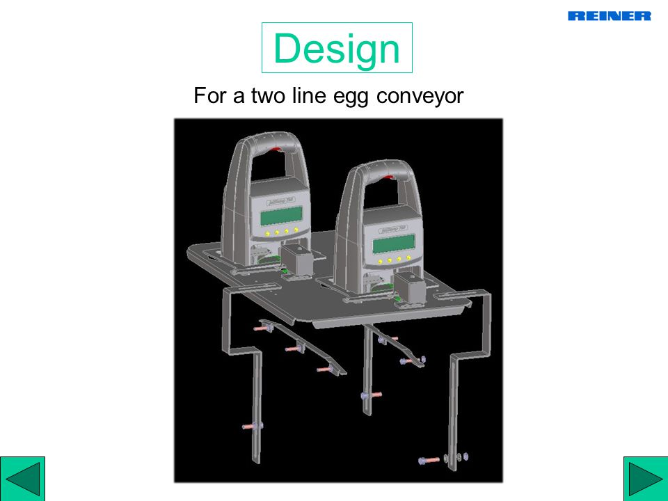 The automatic Transport of Eggs The right area to mount a jetStamp 792E is just before the weigh station weigh station Transport of Egg