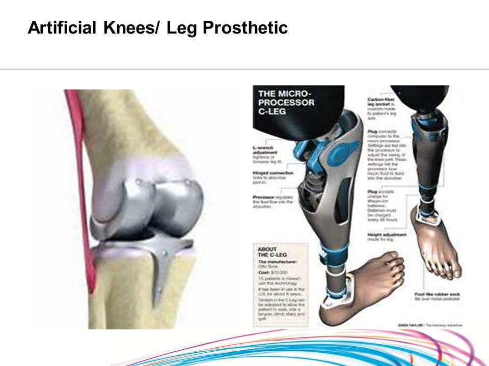 Artificial Knees/ Leg Prosthetic