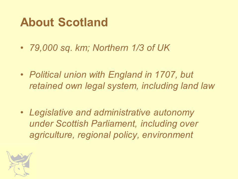Methods Scottish Government data –IACS –Local office spreadsheets (c.