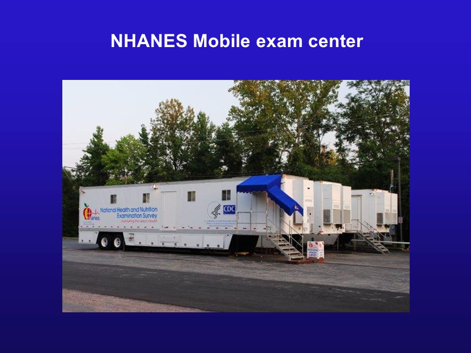 NHANES Mobile exam center