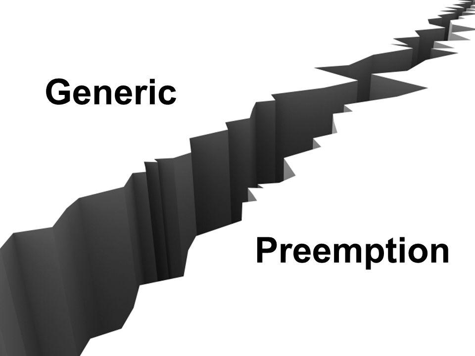 Generic Preemption