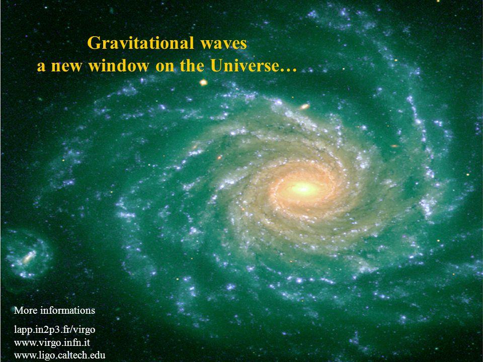 20 April 2005D. Verkindt, LAPP, Virgo43 Source: A Weinstein (Ligo) Ondes Gravitationnelles .