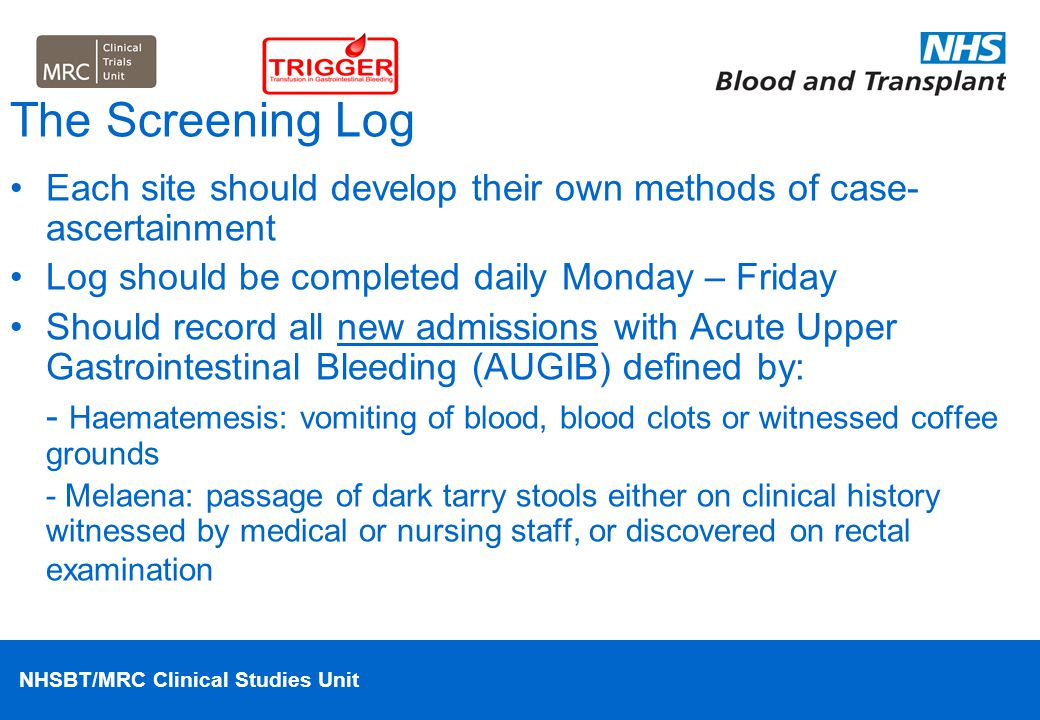 NHSBT/MRC Clinical Studies Unit Case-Study 4 Answer 78 year old man previous heart attacks and mini-strokes taking life-long aspirin and dypiridamole.