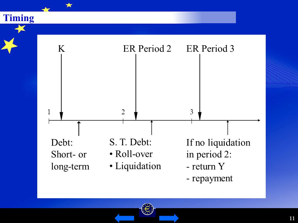 11 Timing Debt: Short- or long-term ER Period 3 S.