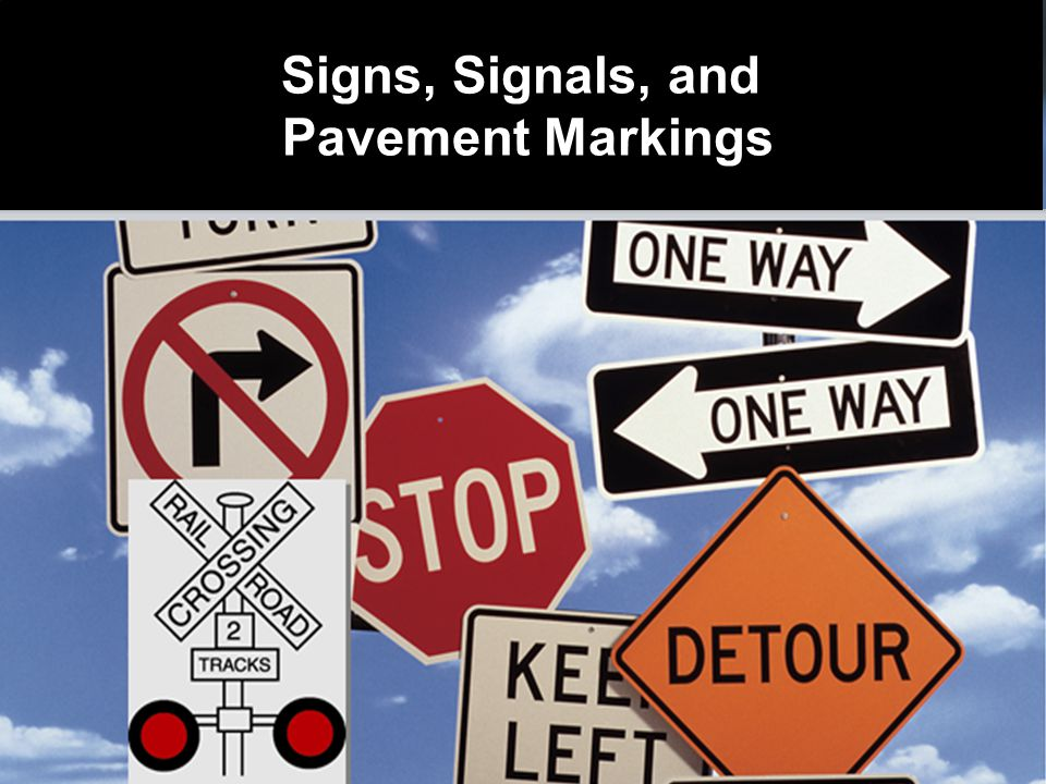 A.Stop and remain stopped if lights are flashing B.Slow down and watch for trains C.Stop and check for trains – proceed with caution