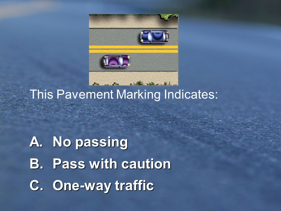 Here Comes # 32 - Pavement Marking...