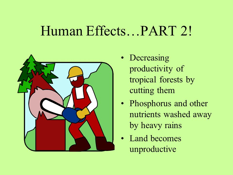 Human Effects…PART 2.