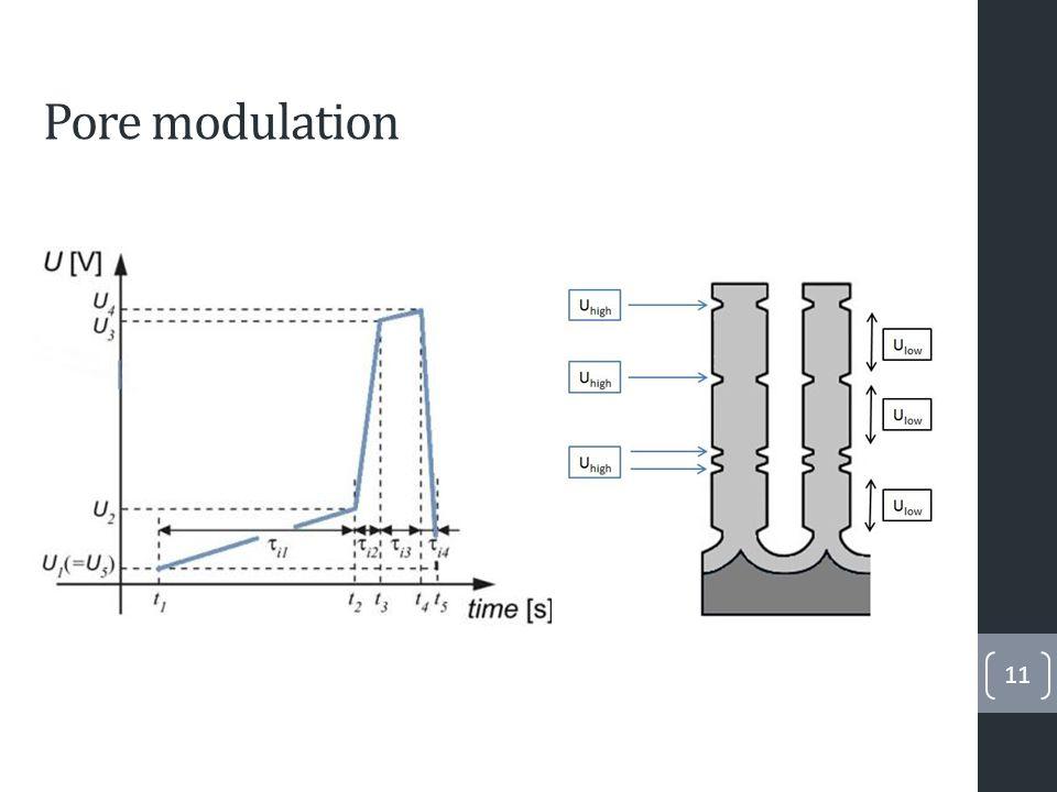 Pore modulation 11